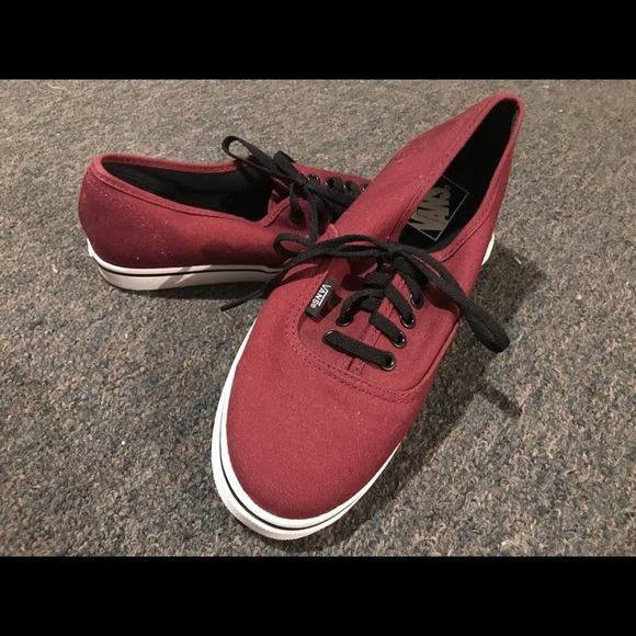 Vans Size 7.5 Maroon Clothing, Shoes & Accessories Comfort Shoes